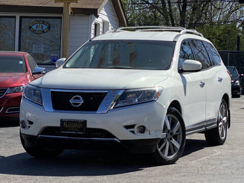 2013 Nissan Pathfinder for sale at Kugman Motors in Saint Louis MO