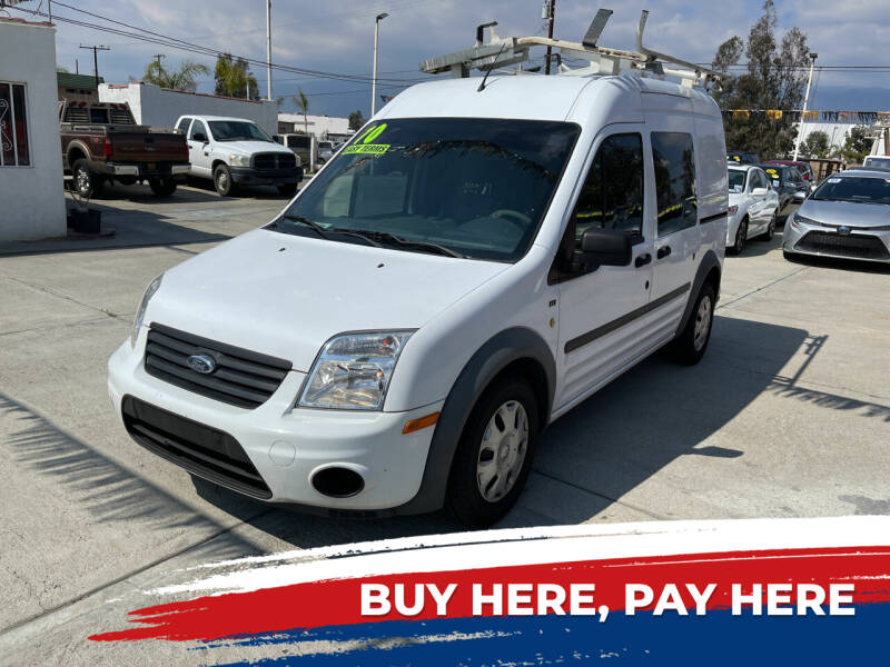 2010 Ford Transit Connect for sale at CALIFORNIA AUTO FINANCE GROUP in Fontana CA