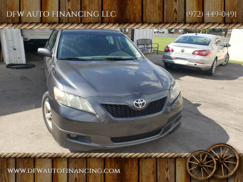 2007 Toyota Camry for sale at DFW AUTO FINANCING LLC in Dallas TX