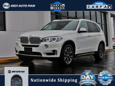 2018 BMW X5 for sale at INDY AUTO MAN in Indianapolis IN