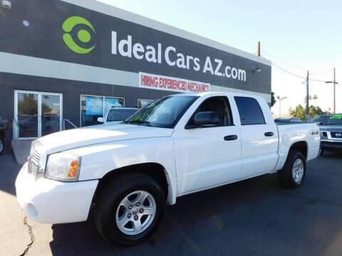 2007 Dodge Dakota for sale at Ideal Cars Broadway in Mesa AZ