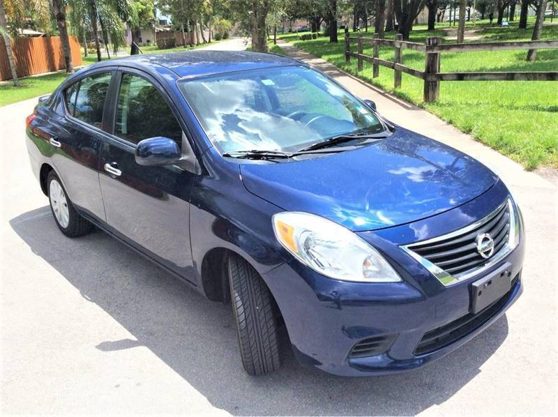 2013 Nissan Versa for sale at LESS PRICE AUTO BROKER in Hollywood FL