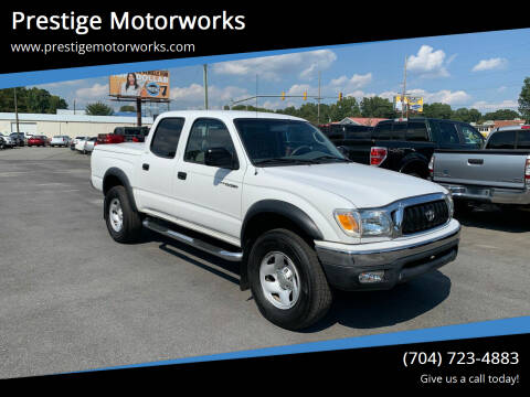 2002 Toyota Tacoma for sale at Prestige Motorworks in Concord NC