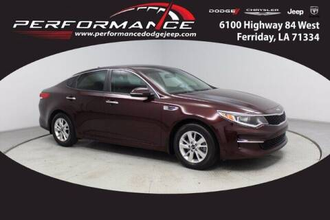 2016 Kia Optima for sale at Auto Group South - Performance Dodge Chrysler Jeep in Ferriday LA