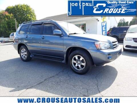 2004 Toyota Highlander for sale at Joe and Paul Crouse Inc. in Columbia PA