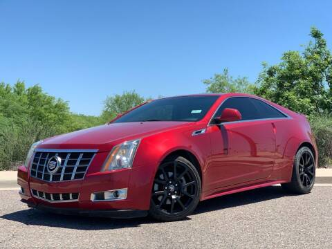 2012 Cadillac CTS for sale at AZ Auto Gallery in Mesa AZ
