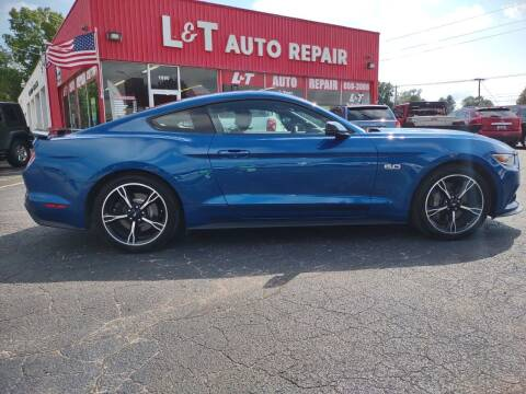 2017 Ford Mustang for sale at L&T Auto Sales in Three Rivers MI