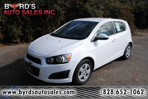 2016 Chevrolet Sonic for sale at Byrds Auto Sales in Marion NC