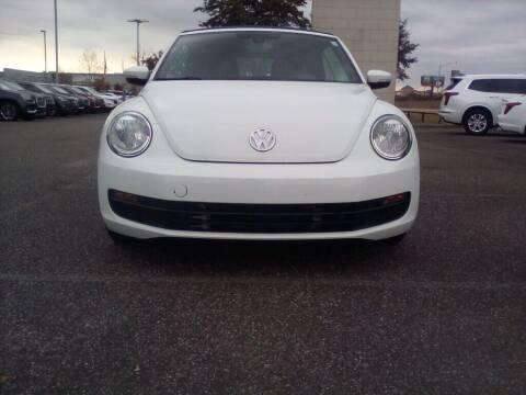 2016 Volkswagen Beetle Convertible for sale at JOE BULLARD USED CARS in Mobile AL