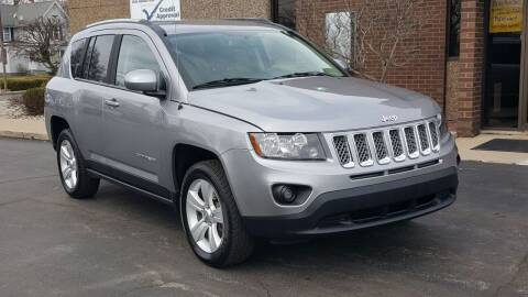 2016 Jeep Compass for sale at Mighty Motors in Adrian MI