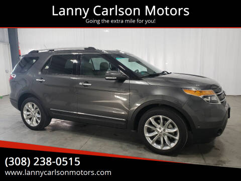2015 Ford Explorer for sale at Lanny Carlson Motors in Kearney NE