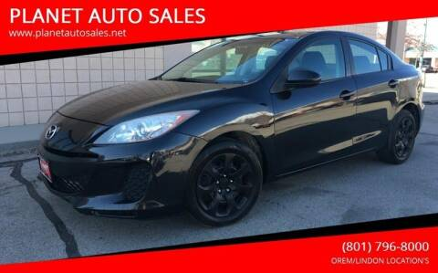 2013 Mazda MAZDA3 for sale at PLANET AUTO SALES in Lindon UT