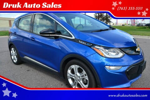 2017 Chevrolet Bolt EV for sale at Druk Auto Sales in Ramsey MN
