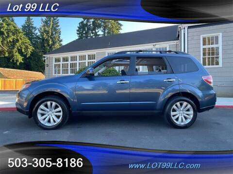 2011 Subaru Forester for sale at LOT 99 LLC in Milwaukie OR