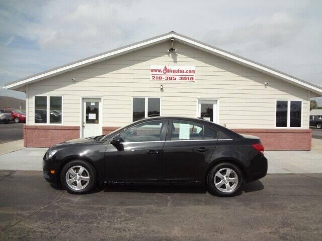 2014 Chevrolet Cruze for sale at GIBB'S 10 SALES LLC in New York Mills MN