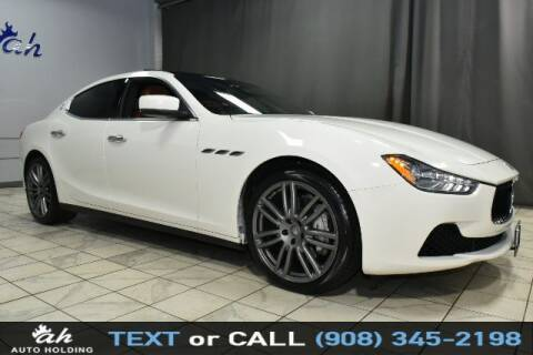 2016 Maserati Ghibli for sale at AUTO HOLDING in Hillside NJ