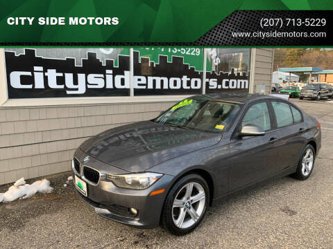 2013 BMW 3 Series for sale at CITY SIDE MOTORS in Auburn ME
