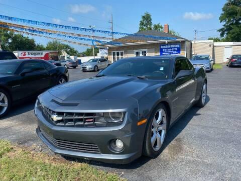 2011 Chevrolet Camaro for sale at Brucken Motors in Evansville IN