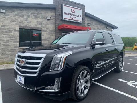 2016 Cadillac Escalade ESV for sale at GREENVILLE AUTO & RV in Greenville WI