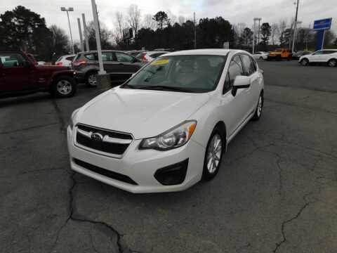 2013 Subaru Impreza for sale at Paniagua Auto Mall in Dalton GA