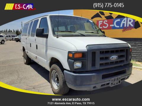2014 Ford E-Series Wagon for sale at Escar Auto in El Paso TX