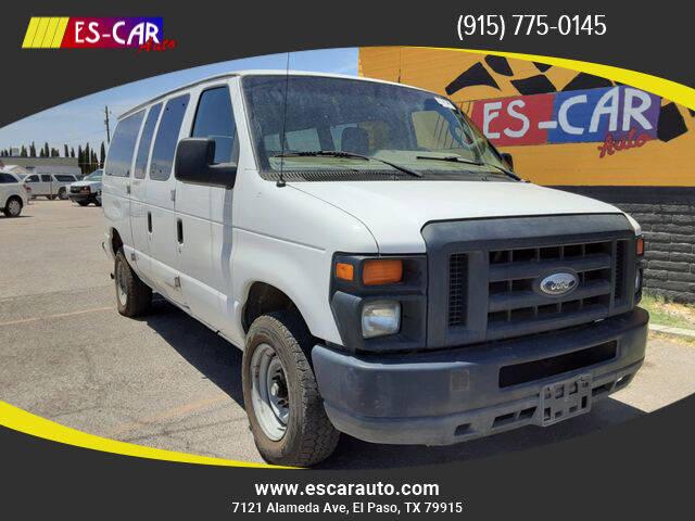 2014 Ford E-Series Wagon for sale at Escar Auto - 9809 Montana Ave Lot in El Paso TX