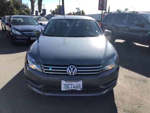 2012 Volkswagen Passat for sale at Faith Auto Sales in Temecula CA