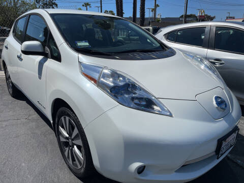 2015 Nissan LEAF for sale at CARZ in San Diego CA