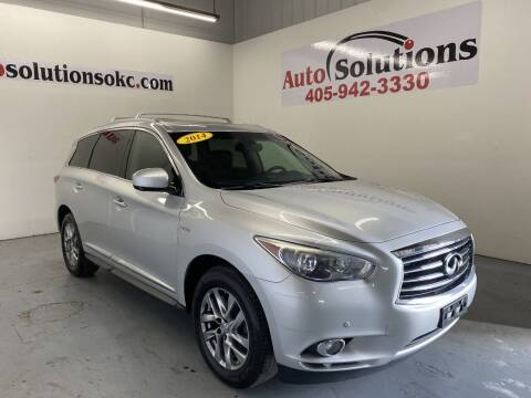 2014 Infiniti QX60 Hybrid for sale at Auto Solutions in Warr Acres OK