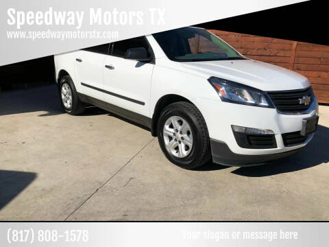 2017 Chevrolet Traverse for sale at Speedway Motors TX in Fort Worth TX