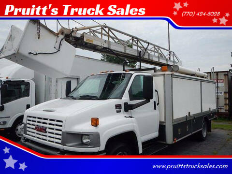2006 GMC C5500 for sale at Pruitt's Truck Sales in Marietta GA