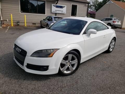 2009 Audi TT for sale at M & A Motors LLC in Marietta GA