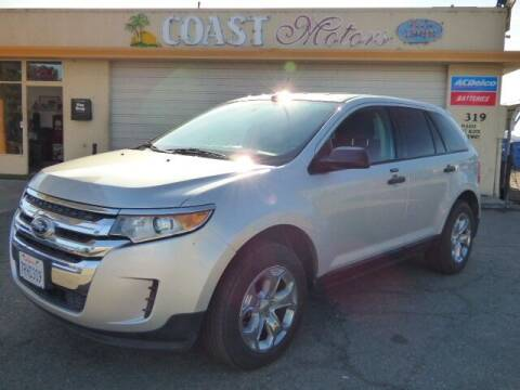 2013 Ford Edge for sale at Coast Motors in Arroyo Grande CA