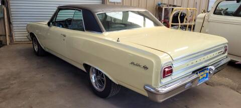 1965 Chevrolet Malibu for sale at COLLECTABLE-CARS LLC in Nacogdoches TX