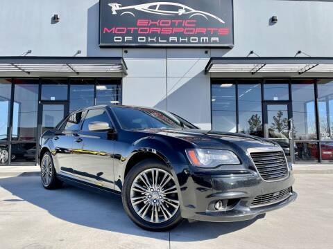 2014 Chrysler 300 for sale at Exotic Motorsports of Oklahoma in Edmond OK
