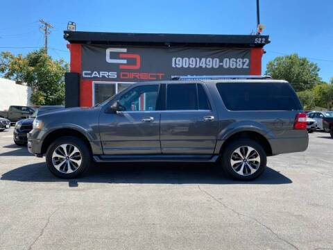 2016 Ford Expedition EL for sale at Cars Direct in Ontario CA