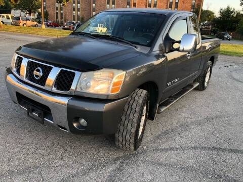 2006 Nissan Titan for sale at Supreme Auto Gallery LLC in Kansas City MO