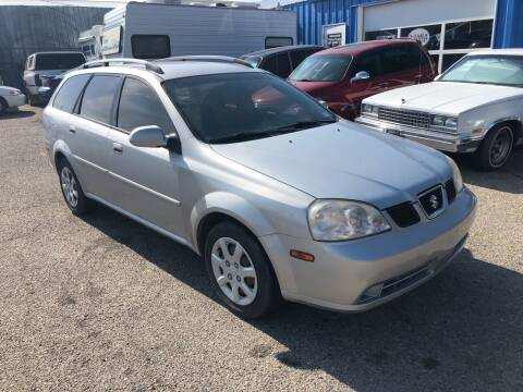 2005 Suzuki Forenza for sale at AFFORDABLY PRICED CARS LLC in Mountain Home ID