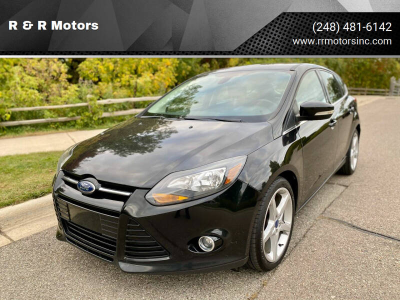 2012 Ford Focus for sale at R & R Motors in Waterford MI