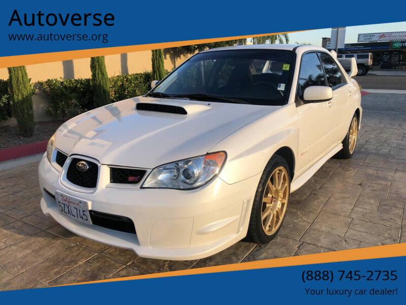 2007 Subaru Impreza for sale at Autoverse in La Habra CA