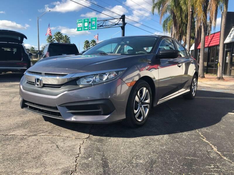 2016 Honda Civic for sale at GTR MOTORS in Hollywood FL