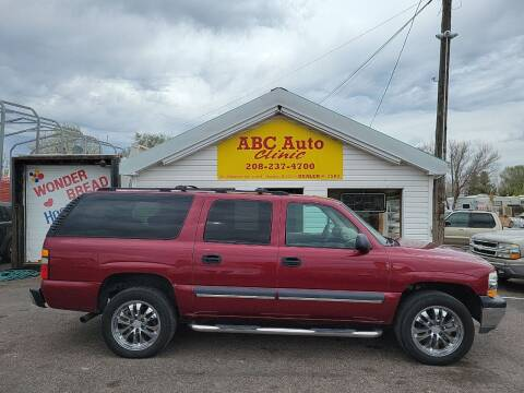 2004 Chevrolet Suburban for sale at ABC AUTO CLINIC - Chubbuck in Chubbuck ID
