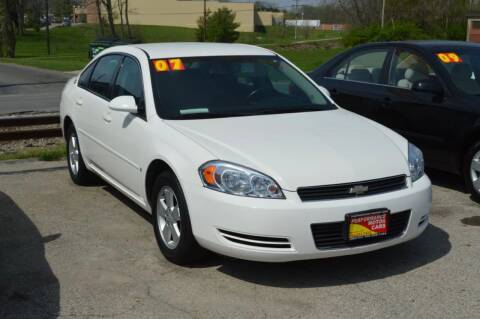 2007 Chevrolet Impala for sale at Performance Motor Cars in Washington Court House OH