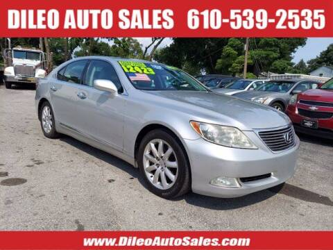 2008 Lexus LS 460 for sale at Dileo Auto Sales in Norristown PA