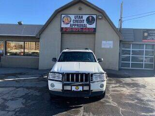 2005 Jeep Grand Cherokee for sale at Utah Credit Approval Auto Sales in Murray UT