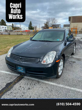 2004 Infiniti G35 for sale at Capri Auto Works in Allentown PA