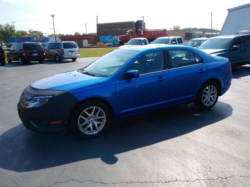 2012 Ford Fusion for sale at Big Boys Auto Sales in Russellville KY