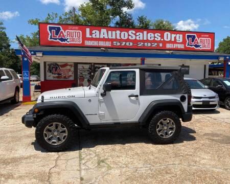 2016 Jeep Wrangler for sale at LA Auto Sales in Monroe LA