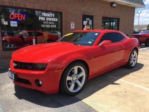 2012 Chevrolet Camaro for sale at Bankruptcy Car Financing in Norfolk VA