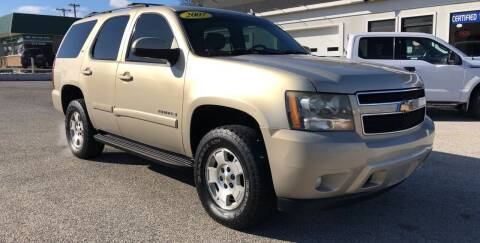 2007 Chevrolet Tahoe for sale at Perrys Certified Auto Exchange in Washington IN